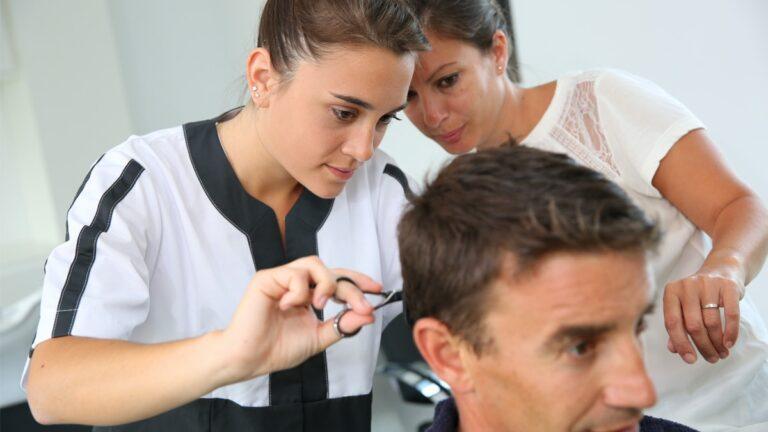 jak zostać fryzjerem, szkoła dla fryzjera, nauka na fryzjera