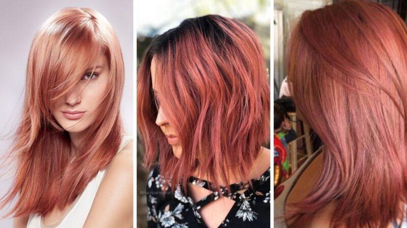 pastelowy rudy, truskawkowe włosy, pastelowe włosy