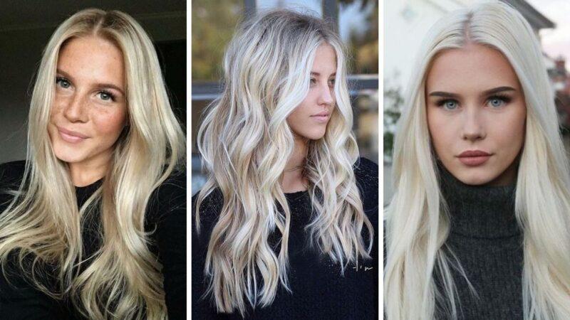 szwedzki blond, lodowy blond, ice blonde, swedish blonde