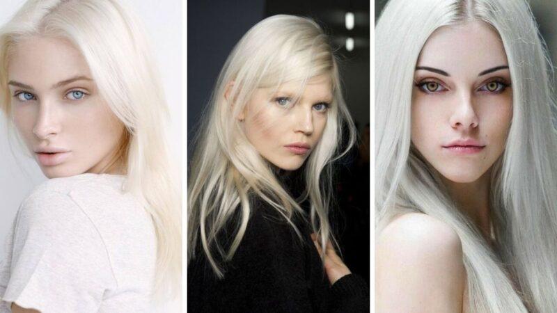 szwedzki blond, mroźny blond, lodowy blond, popielate włosy