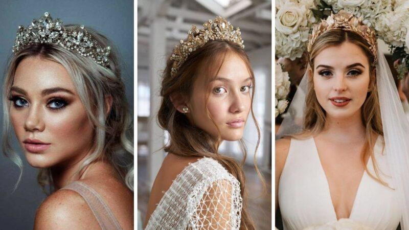 trendy ślubne 2021, trendy we fryzurach ślubnych 2021