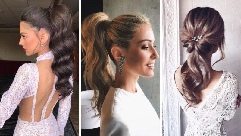 fryzury na ślub, fryzury na wesele z długich włosów