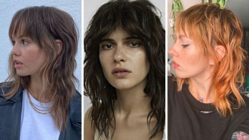 mullet hair, mullet hairstyles, modne fryzury 2021
