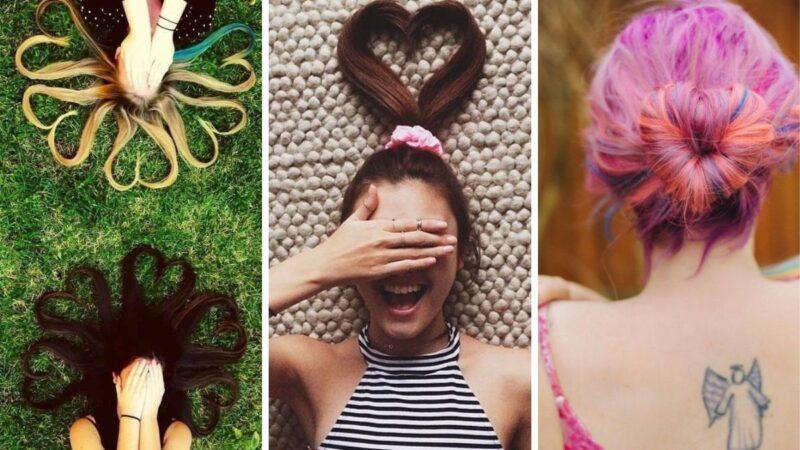 fryzury na walentynki, fryzury dla zakochanych, heart hairstyles