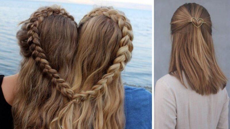 serce z włosów, serduszko z włosów