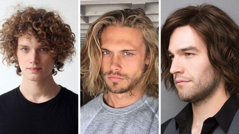 perm hair men, trwała ondulacja, modne fryzury 2021, modne fryzury męskie 2021