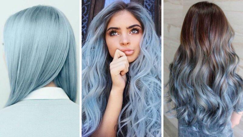 Cotton candy blue hair – gotowi na słodki zawrót głowy?