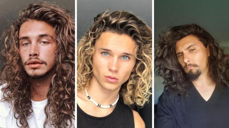 perm hair man, trwała ondulacja u mężczyzn, fryzury dla mężczyzn