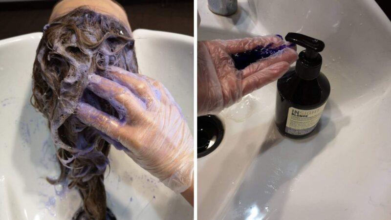 recenzja szamponu insight blonde, test fioletowego szamponu insight blonde