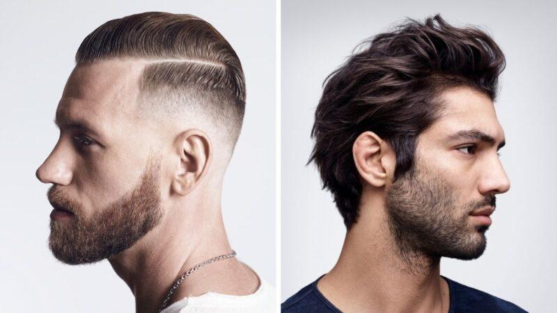 stylizacja męskich włosów za pomocą pomady
