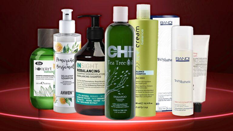 szampon do włosów przetłuszczających się, szampony do włosów przetłuszczających się, ranking szamponów regulujących sebum