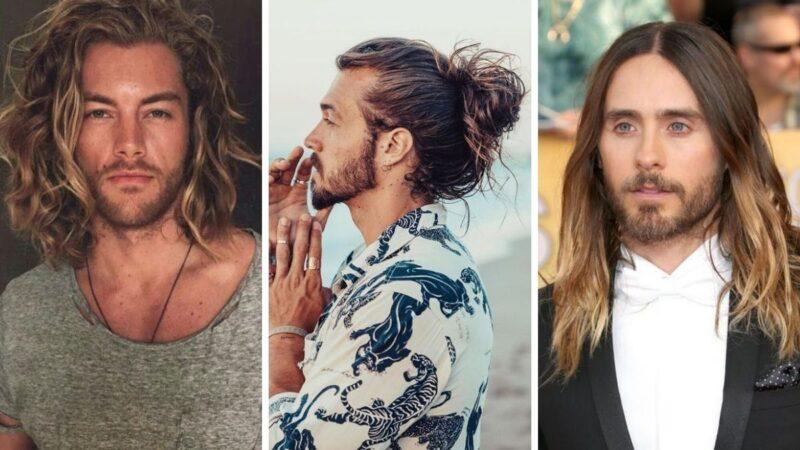 trwała ondulacja, fryzury męskie, falowane włosy dla mężczyzn