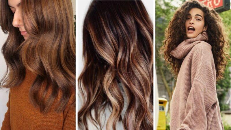 glowing bronze hair, złoty brąz kolor włosów, brązowe włosy