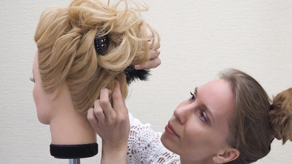 główka fryzjerska, główka treningowa, główka dla fryzjera