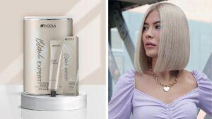 indola blonde expert, chłodny odcień blondu, jak uzyskać chłodny blond