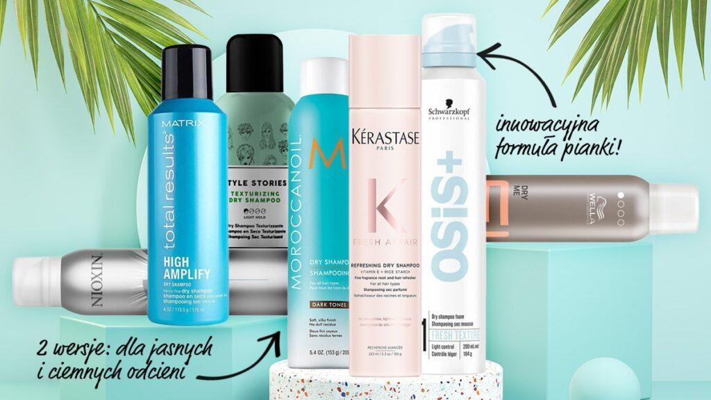 ranking suchych szamponów, najlepsze suche szampony, top 7 suchych szamponów