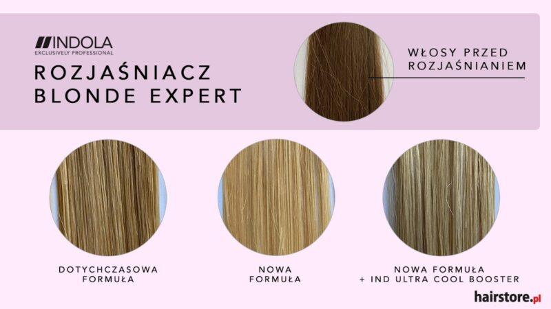 efekty stosowania boosterów indola blonde expert