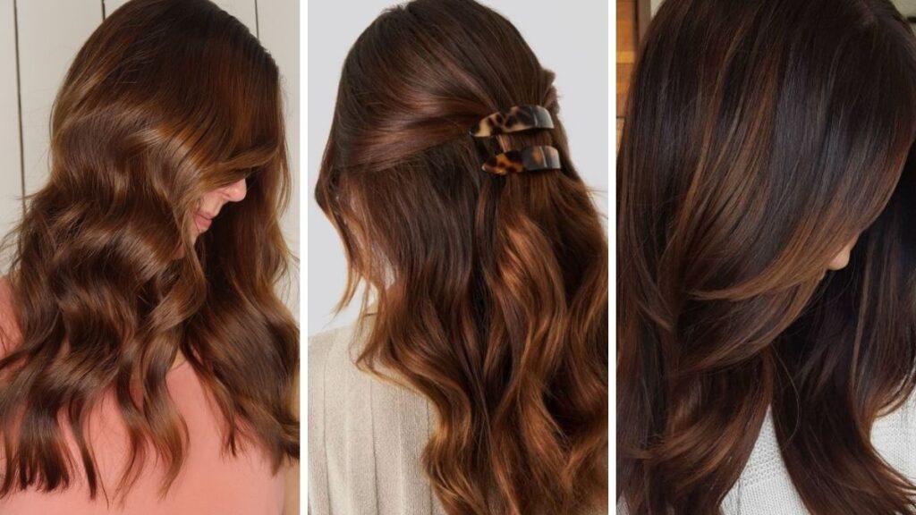 glowing bronze, złoty brąz, brązowe włosy