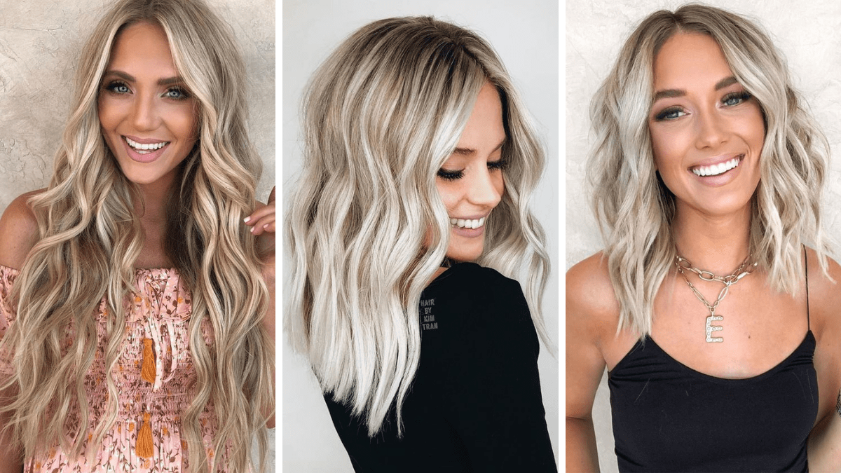 waniliowy blodn, kremowy blond, vanilla cream hair