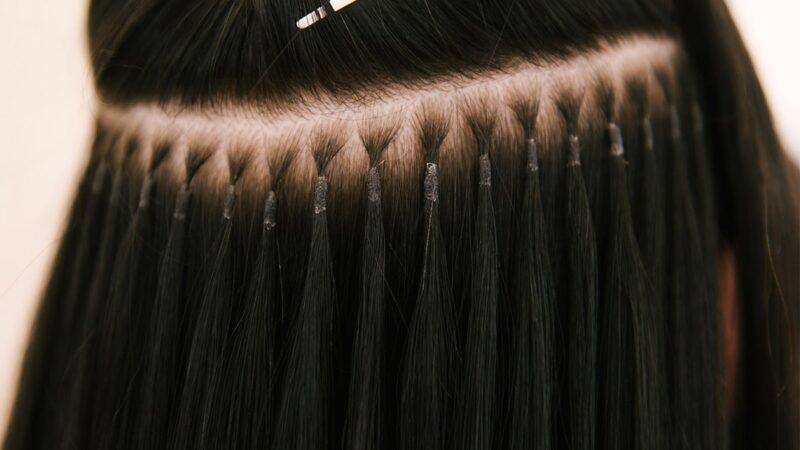 przedłużane włosy, metody przedłużania włosów, przedłużanie włosów cena