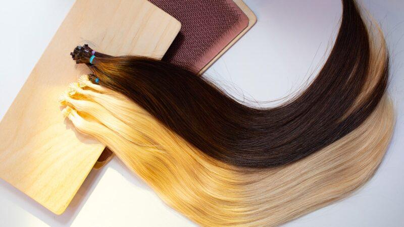 jak przedłużyć włosy, jak przedłużać włosy, metoda kanapkowa