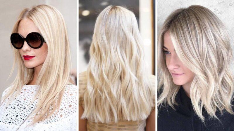 waniliowy blond, waniliowy kremowy blond, włosy blond