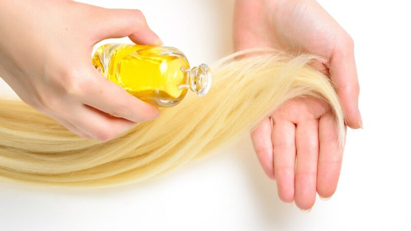 olej musztardowy na włosy, olej z gorczycy na włosy