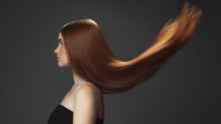 zdrowe i lśniące włosy