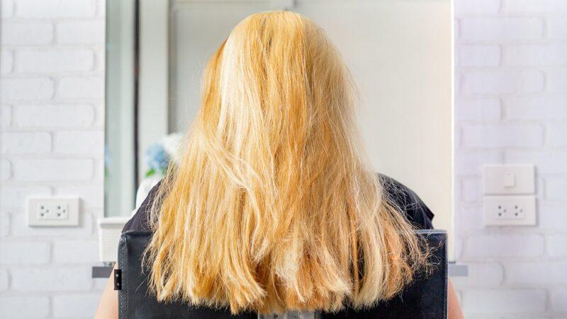 dekoloryzacja włosów, włosy dekoloryzowane