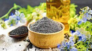 olej z czarnuszki, czarnuszka, nasiona czarnuszki