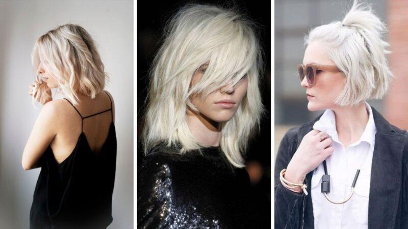 platynowy blond, atomic blonde hair
