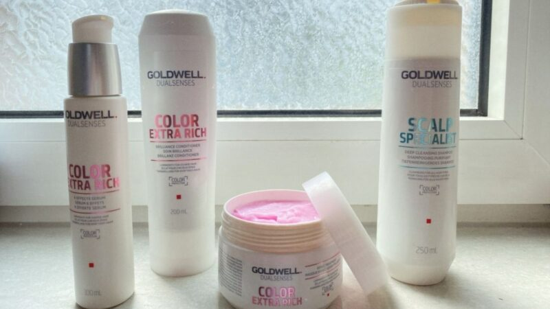 kosmetyki do włosów goldwell color extra rich