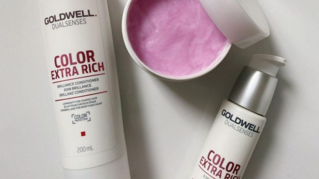 kosmetyki do włosów farbowanych goldwell color