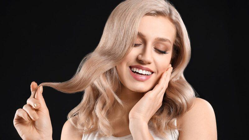 efekty dekoloryzacji włosów
