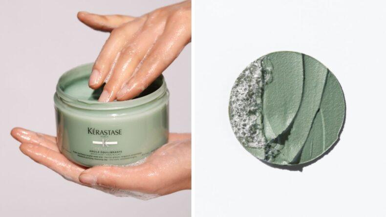 glinka do mycia skóry głowy Kerastase