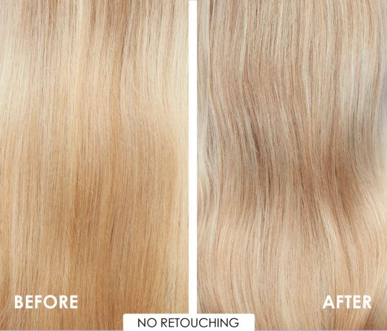 efekty stosowania fioletowego szamponu olaplex