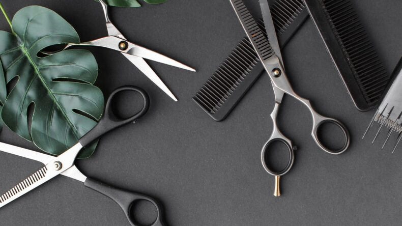 Kształt nożyczek fryzjerskich – musisz to wiedzieć