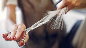 nożyczki fryzjerskie, nożyczki do ścinania włosów