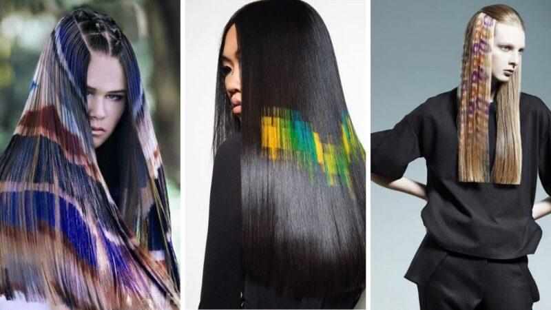 Jak zrobić kolorowe wzory na włosach? To bardzo proste!
