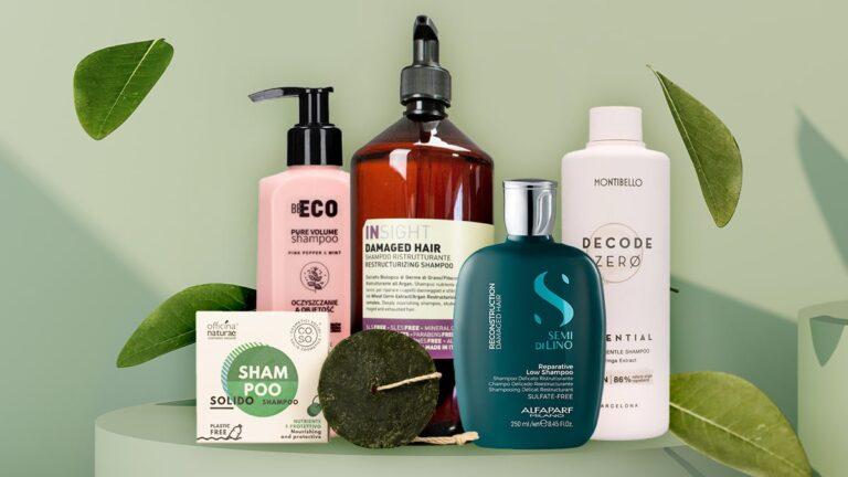 ranking naturalnych szamponów do włosów, top 6 naturalnych szamponów do włosów