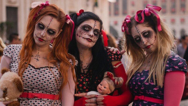 Szybkie fryzury na Halloween, czyli ratunek na ostatnią chwilę