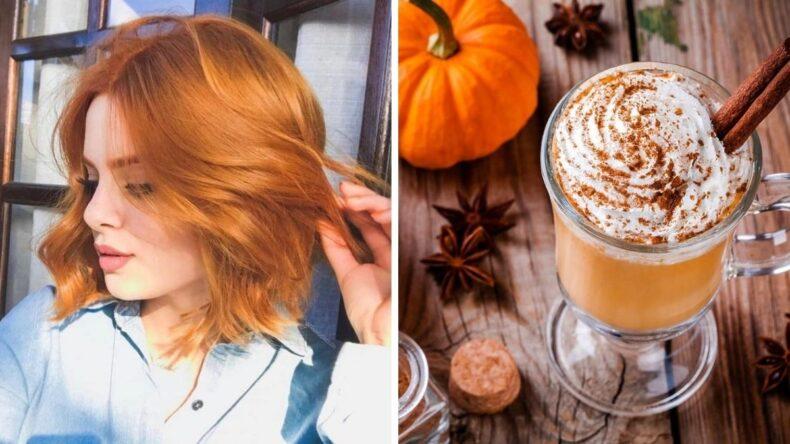 Pumpkin spice hair, czyli hit w jesiennej koloryzacji