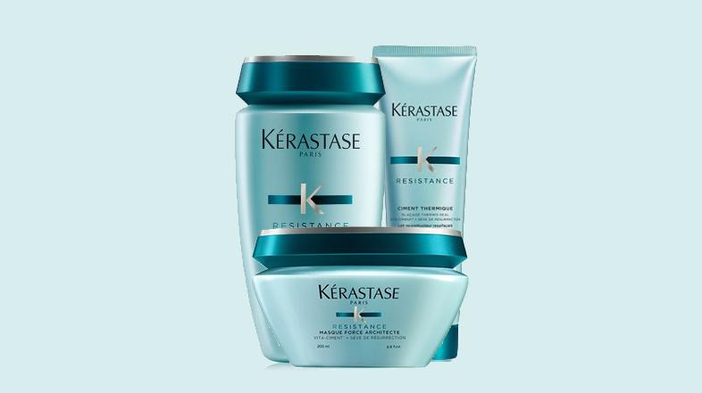 Kerastase Resistance cement szampon odżywka