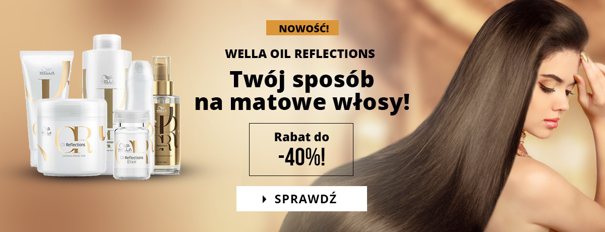 Wella Oil Reflections do -40%!