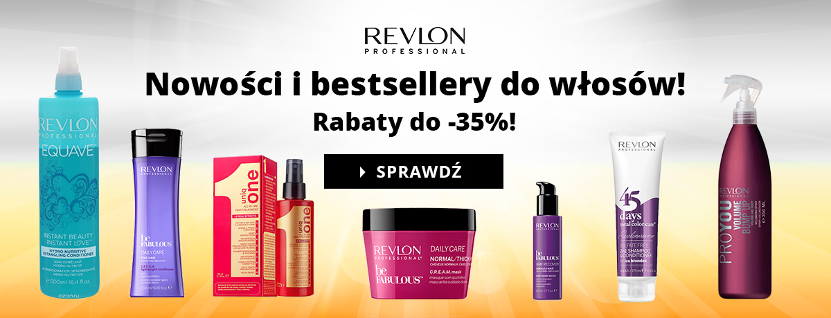 Revlon - taniej do -35%!