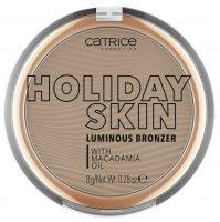 Catrice Holiday Skin Luminous, puder brązujący 010, 8g