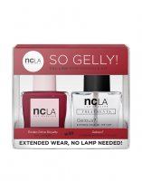 NCLA So Gelly!, zestaw lakier+top do paznokci, Rodeo Drive Royalty, 2x15ml