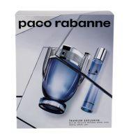 Paco Rabanne Invictus, zestaw: EDT 100 ml + EDT 20 ml (M)