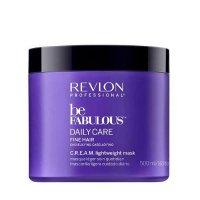 Revlon Be Fabulous, lekka maska do włosów cienkich, 500ml