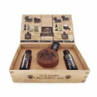 Dear Barber zestaw: szampon 50ml, odżywka 50ml, pasta włóknista 100ml